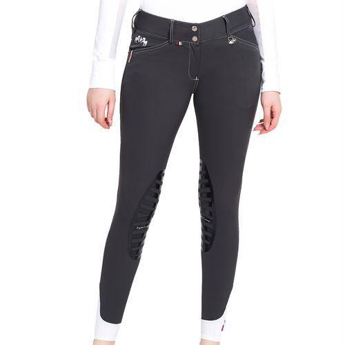 Equine Couture™ Ladies Brinley Silicone Knee-Patch Breech