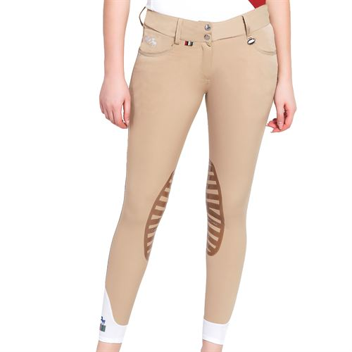 Equine Couture™ Ladies Darsy Silicone Knee-Patch Breech