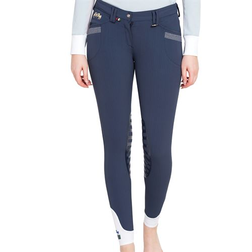 Equine Couture™ Ladies Sarah Silicone Knee-Patch Breech
