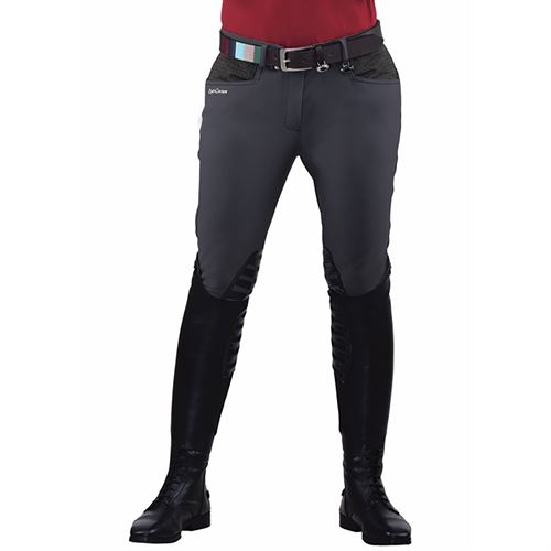 Equine Couture™ Ladies Oslo Silicone Knee-Patch Breech