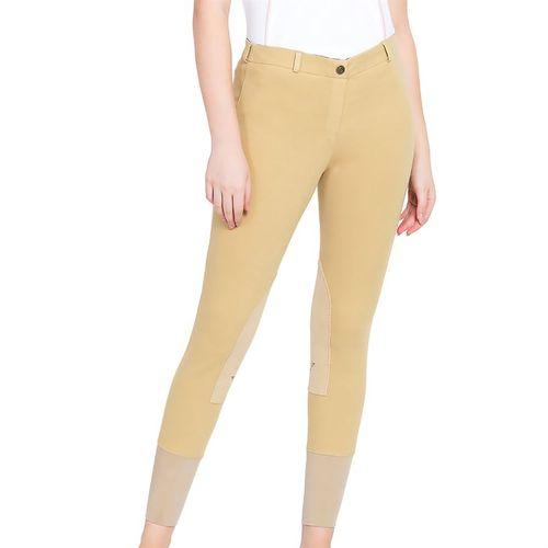 TuffRider® Ladies Pull-On Knee-Patch Breech