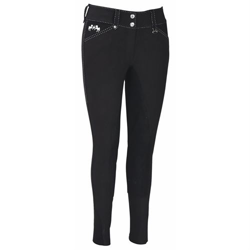 Equine Couture™ Ladies Blakely Full-Seat Breech with Contrast Saddle Stitch
