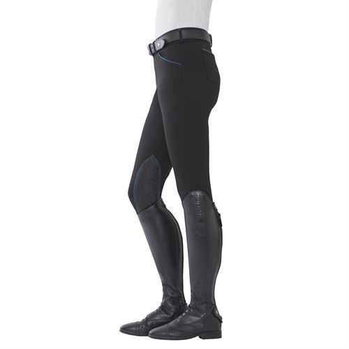 Dover Saddlery® Ladies' Winter Wellesley Silicone Knee-Patch Breech