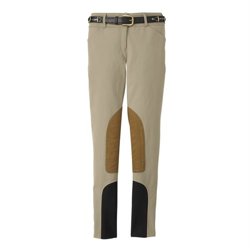 THE TAILORED SPORTSMAN™ Ladies' Mid-Rise Breech with Boot Sock Bottoms
