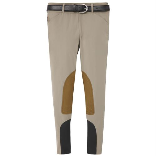 THE TAILORED SPORTSMAN™ Ladies' Mid-Rise Side-Zip Breech with Boot Sock Bottoms