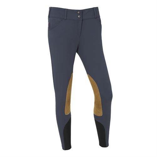 THE TAILORED SPORTSMAN™ Ladies' Low-Rise Vintage Patch Breech with Boot Sock Bottoms