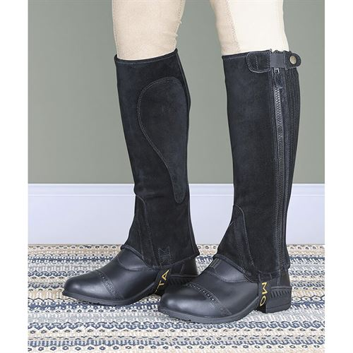 Shires Adults' Moretta Suede Half Chaps