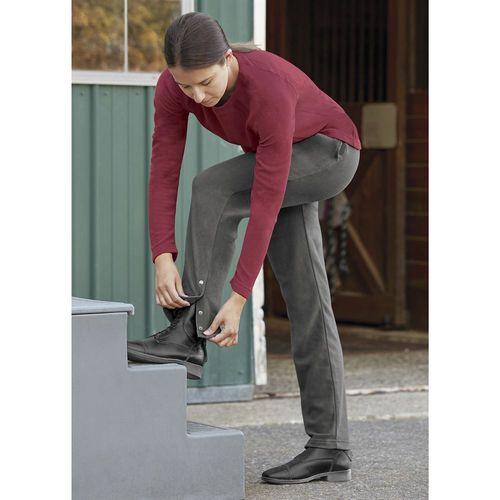Riding Sport™ by Dover Saddlery® Ladies' Fleece Snap Leg Sweat Pants