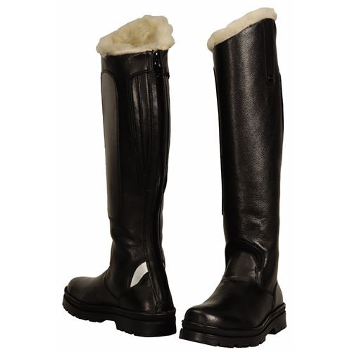 TuffRider® Ladies Tundra Fleece-Lined Tall Boots in Synthetic Leather
