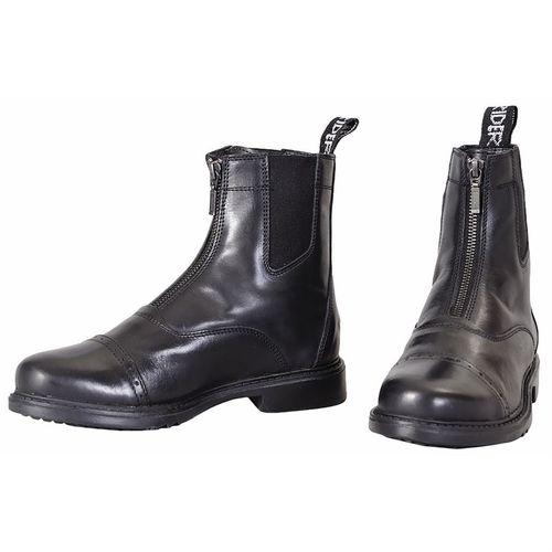 TuffRider® Ladies Baroque Front Zip Paddock Boots with Metal Zipper