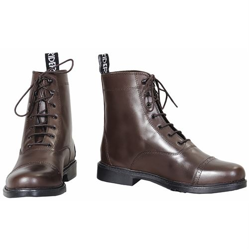 TuffRider® Ladies Baroque Lace-Up Paddock Boots