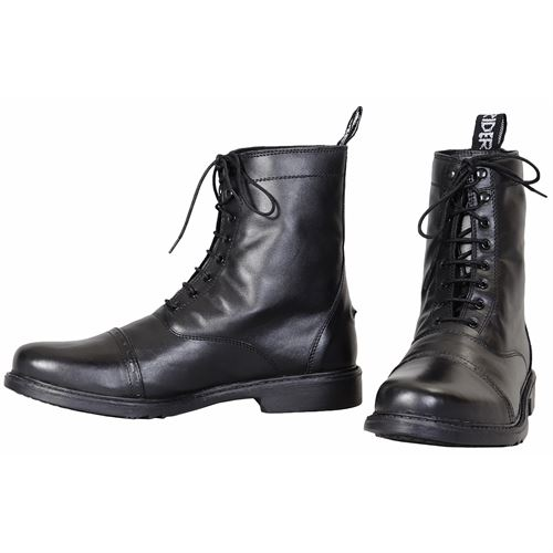 TuffRider® Mens Baroque Lace Up Laced Paddock Boots