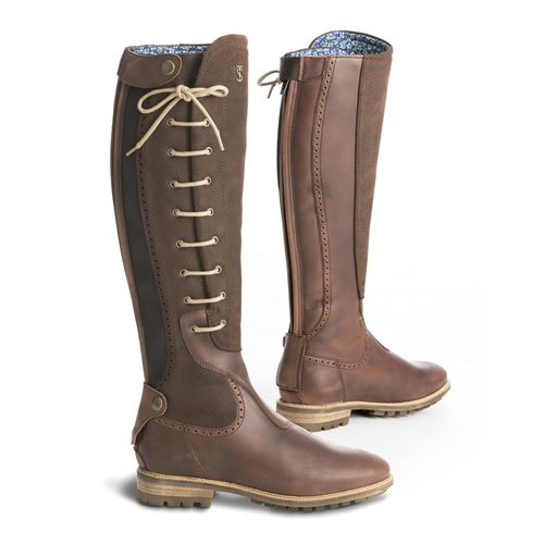 Tredstep™ Ladies' Manor Side Lace Country Boots