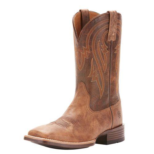 Ariat® Men's Plano Western Boots in Tannin/Tack Room Brown
