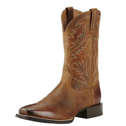 Ariat® Men's Sport Herdsman Boots in Powder Brown