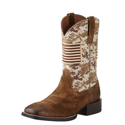 Ariat® Men's Sport Patriot Western Boots