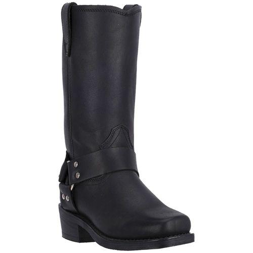 Dan Post® Dingo Men's Black Dean Leather Harness Boots