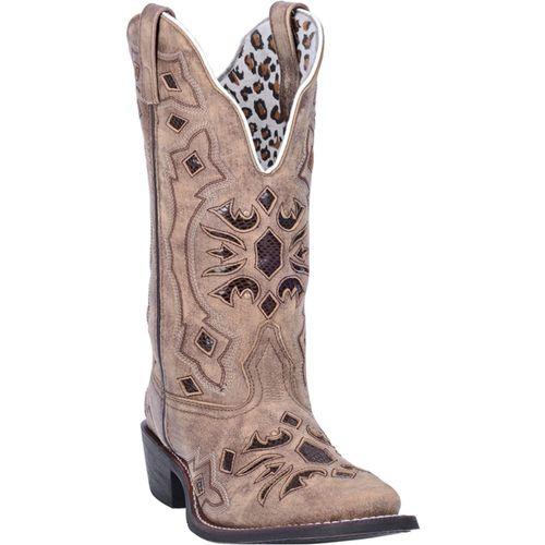 Dan Post® Laredo® Ladies' Queen of Diamonds Leather Boots