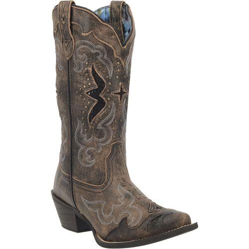 Dan Post® Laredo® Ladies' Lucretia Leather Boots in Black
