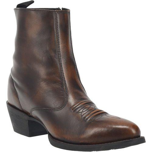 Dan Post® Laredo® Men's Fletcher Leather Boots in Burnished Tan