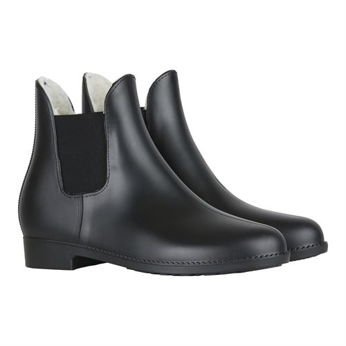Horze Bonn Paddock Boots with Faux Fur Lining