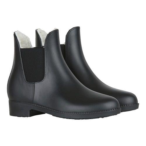 Horze Junior Bonn Paddock Boots with Faux Fur Lining