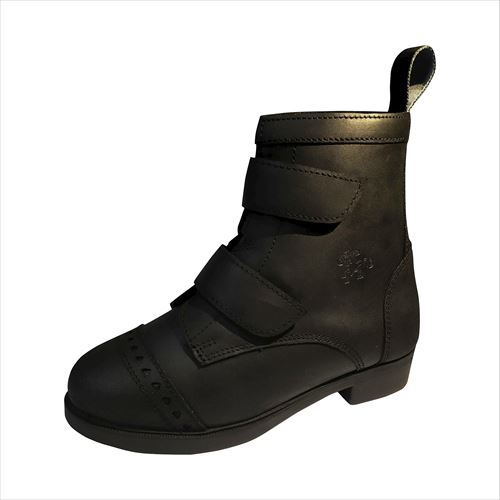 Belle & Bow Equestrian Children's Touch-Close Paddock Boots