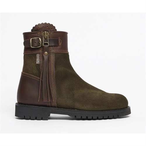 Penelope ChilversLadies' Inclement Cropped Tassel Boots