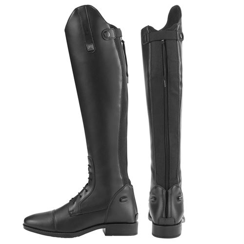 Riding Sport by Dover Saddlery® Ladies' Black Synthetic Leather Field Boots