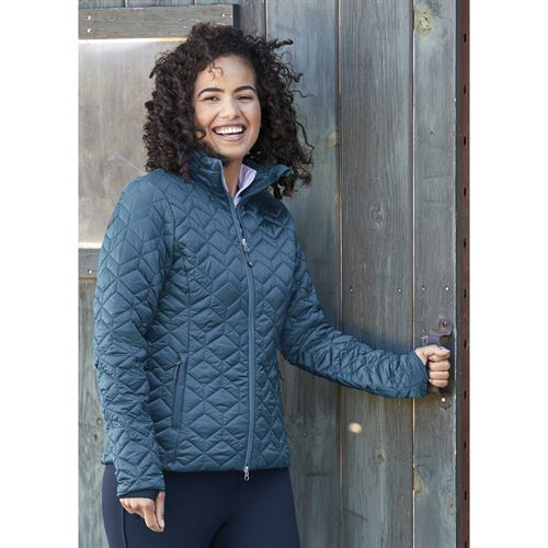 Dover Saddlery® exclusive! Noble Equestrian™ Ladies' Pearl Quilted Jacket