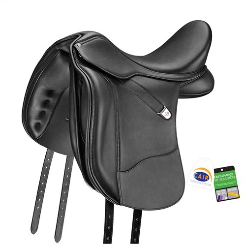 Bates WIDE Dressage+ Saddle in Luxe Leather with CAIR®