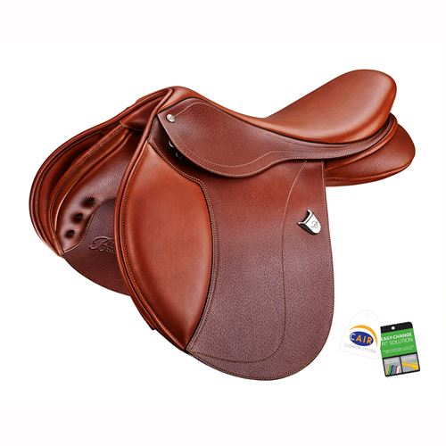 Limited Edition Bates Hunter Jumper Saddle in Newmarket Color with CAIR®