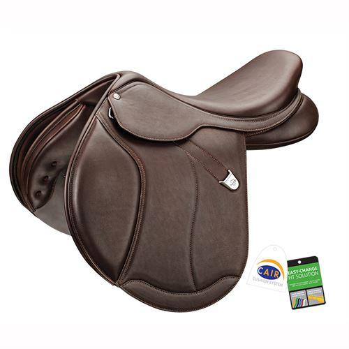 Bates Caprilli Close Contact+ Saddle in Luxe Leather with CAIR®