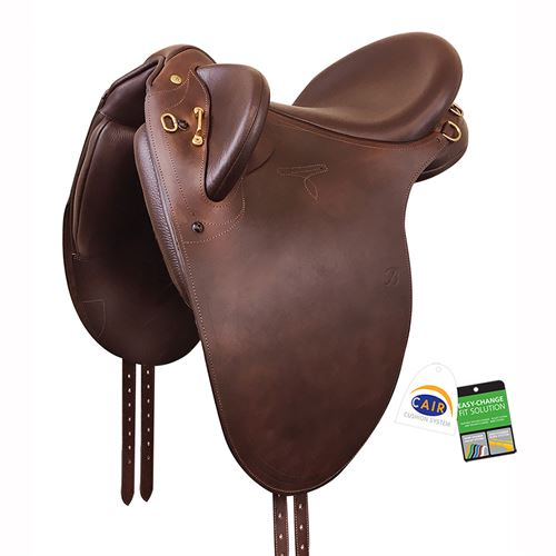 Bates Outback Saddle in Heritage Leather with CAIR®