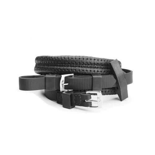 Wintec Equi-Leather Grip Reins