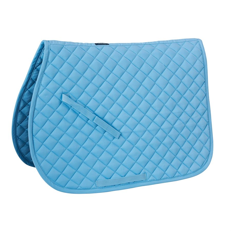 Rider s by dover saddlery quilted pad dover saddlery - Light blue and mint green ...