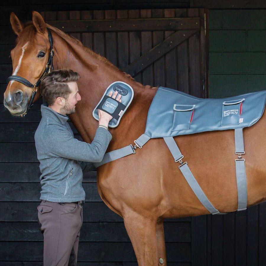 equilibrium Therapy Horse Massage Pad Saddle Area