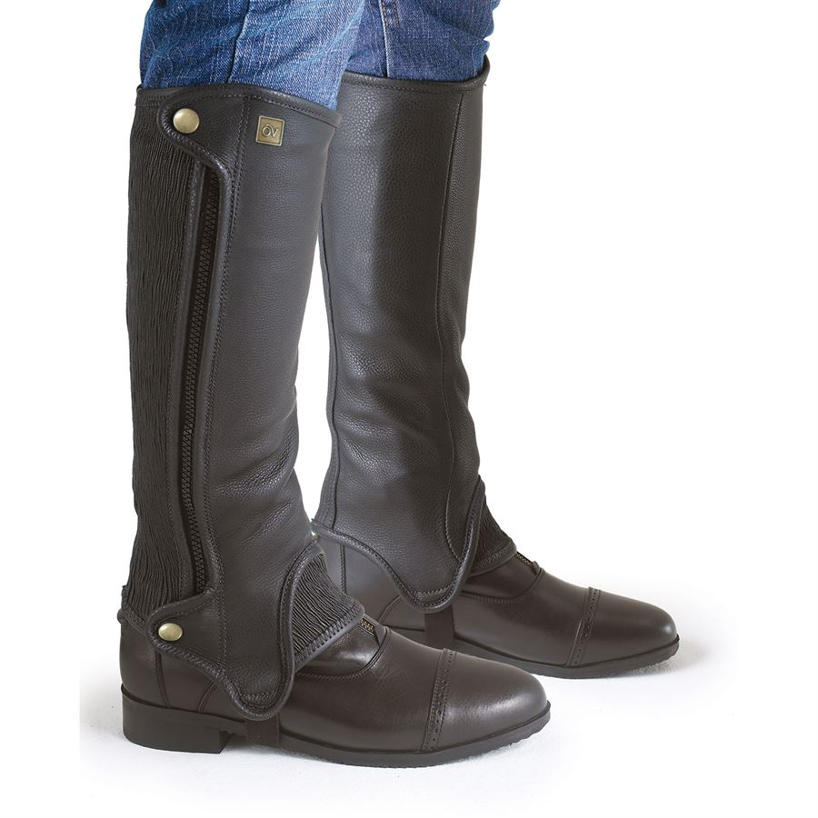 Ovation Precision Fit Half Chaps Dover Saddlery