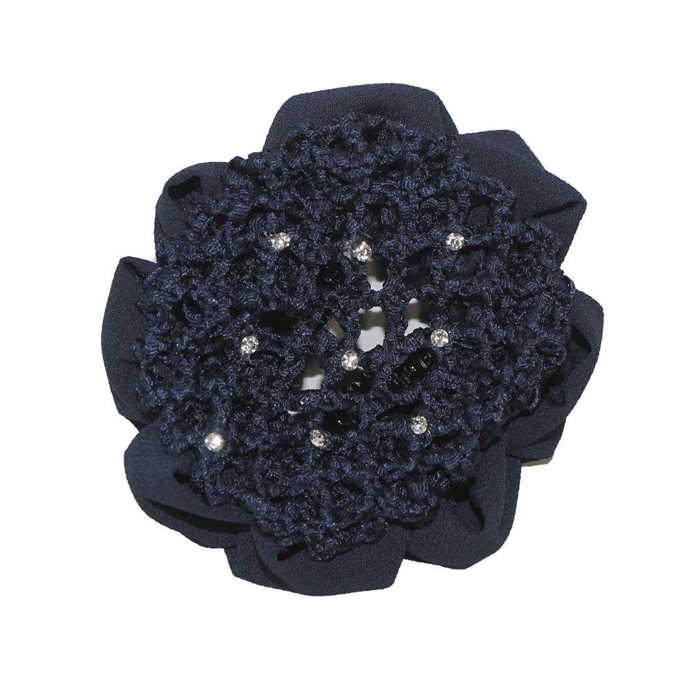 Details about  /Cute flower girl bun mesh for hair for baby bun net bun cover accessories Tu