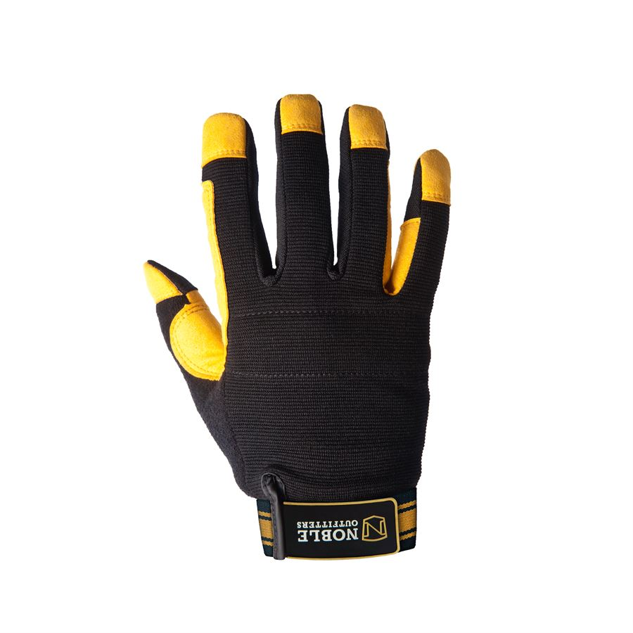 Noble Outfitters Gloves Working Outrider Horseback Tough Heavy Duty Blackberry
