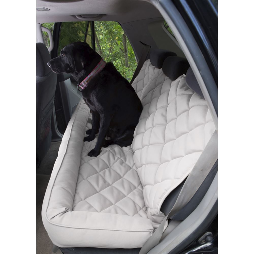 Awe Inspiring No Slip Quilted Back Seat Protector With Bolster Cjindustries Chair Design For Home Cjindustriesco