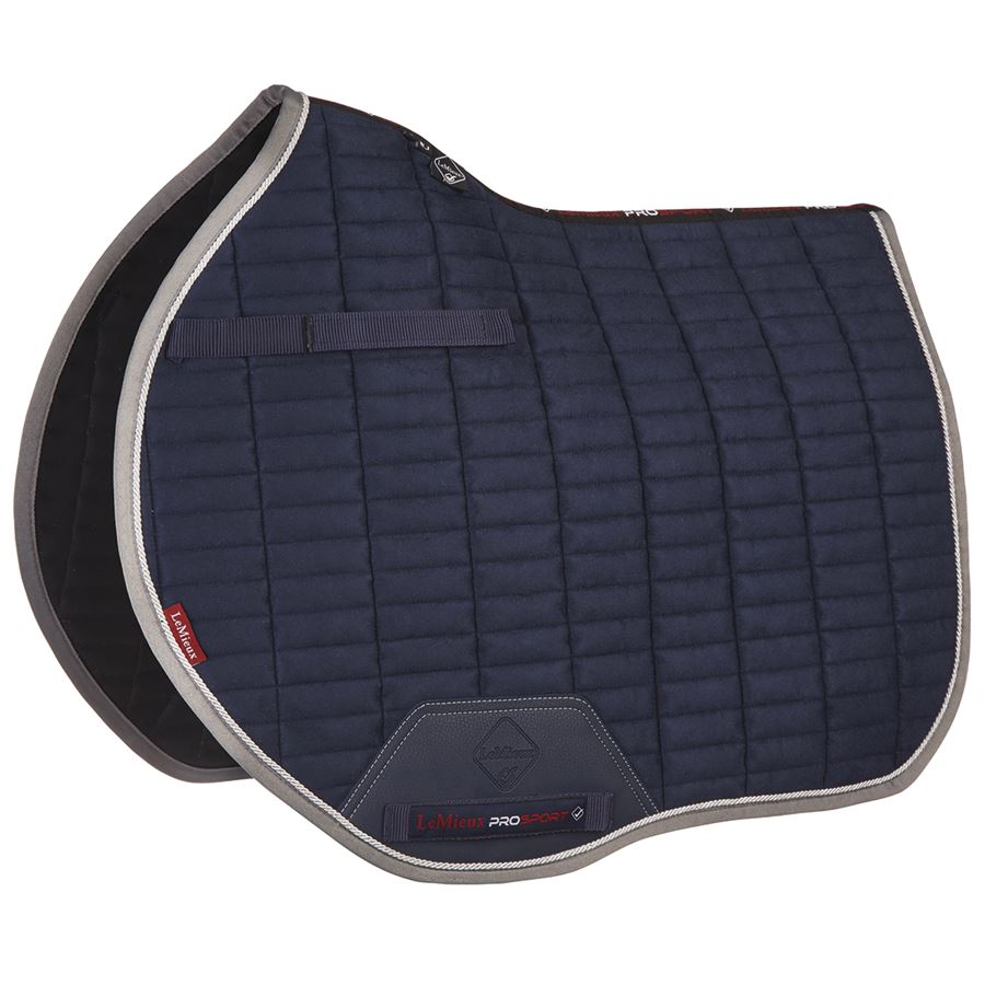 Equidor Saddle Pad Cloth Quilted Full Suede