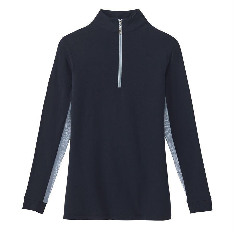 Tailored Sportsman Ladies Icefil Zip Top Sun Shirt