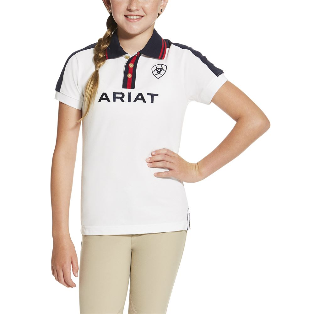 Ariat Girls Team Polo Shirt Dover Saddlery