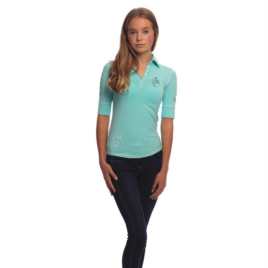 Goode Rider Girls Happy Polo Shirt Dover Saddlery