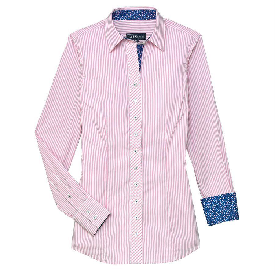 d91fdf63 Essex Classics Ladies' Dora Button Down Shirt | Dover Saddlery