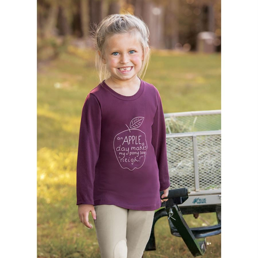 Irideon Pony Girl Tee Kids