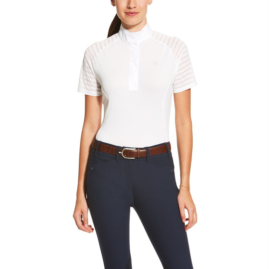 61703839b ... 0201881_7.jpg Ariat® Ladies´ Aptos VentTek™ Show Shirt. Colors/Options: Indigo  Fade