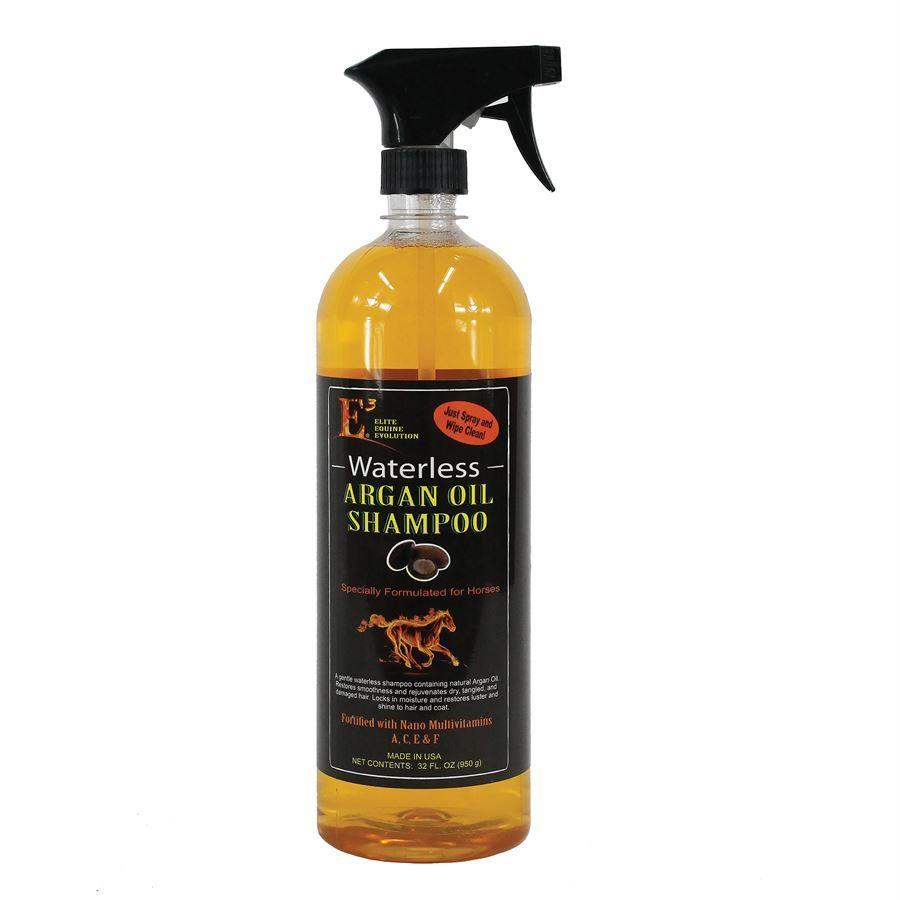 E3 Elite Equine Evolution Waterless Argan Oil Shampoo Quart Dover Saddlery