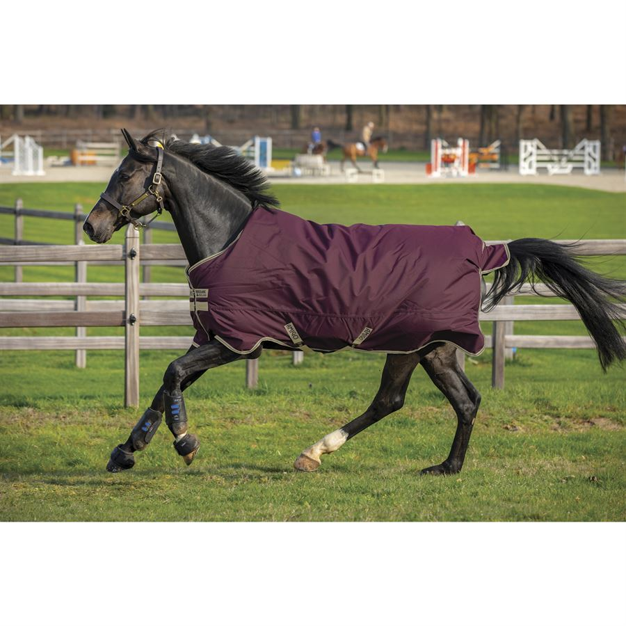 Horseware Amigo Hero Ripstop Plus Lite Turnout Teppich 145cm Fig//Navy /& Tan